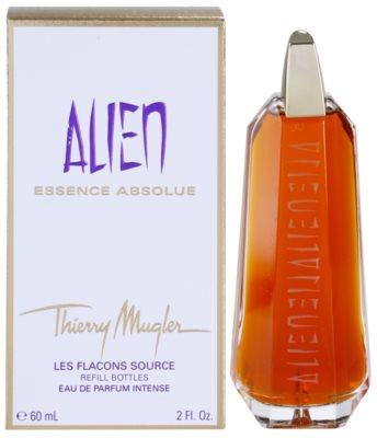 Mugler Alien Essence Absolue Eau de Parfum para mulheres  recarga