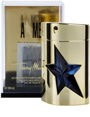 Mugler A*Men Gold Edition Eau de Toilette pentru barbati  reincarcabil Metal Flask 1