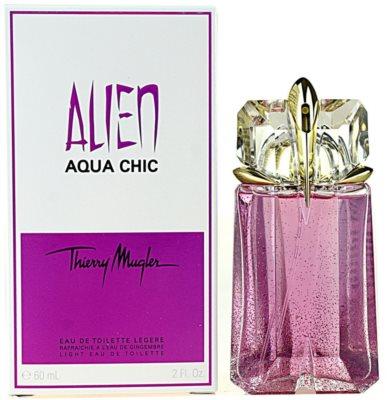 Mugler Alien Aqua Chic 2012 eau de toilette para mujer