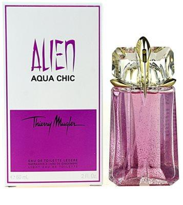 Mugler Alien Aqua Chic 2012 toaletní voda pro ženy