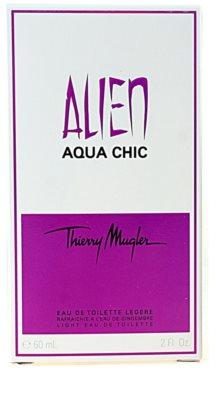 Mugler Alien Aqua Chic 2012 toaletní voda pro ženy 3