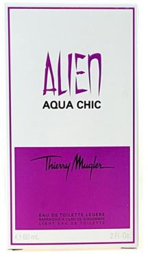 Mugler Alien Aqua Chic 2012 eau de toilette para mujer 3