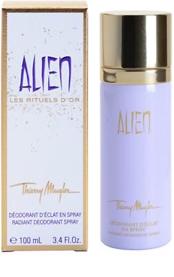Mugler Alien deodorant Spray para mulheres