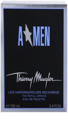 Mugler A*Men toaletna voda za moške  polnilni Metal Flask 3