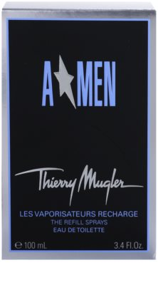 Mugler A*Men eau de toilette para hombre  recargable Metal Flask 3