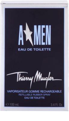 Mugler A*Men Eau de Toilette für Herren  Nachfüllbar Rubber Flask 4