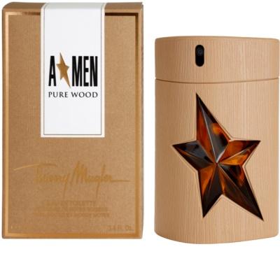 Mugler A*Men Pure Wood eau de toilette férfiaknak