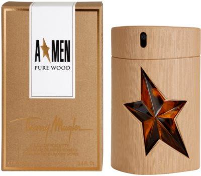 Mugler A*Men Pure Wood eau de toilette para hombre