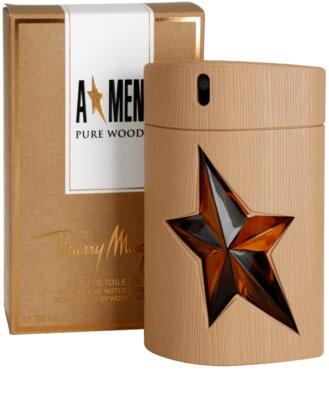 Mugler A*Men Pure Wood Eau de Toilette para homens 1