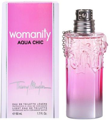 Mugler Womanity Aqua Chic 2013 Edition eau de toilette para mujer