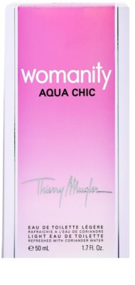 Mugler Womanity Aqua Chic 2013 Edition Eau de Toilette für Damen 4