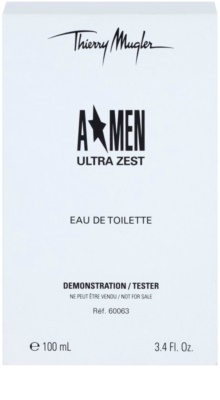 Mugler A*Men Ultra Zest eau de toilette teszter férfiaknak 1