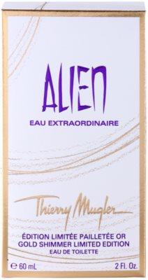 Mugler Alien Eau Extraordinaire Gold Shimmer Limited Edition toaletna voda za ženske 4