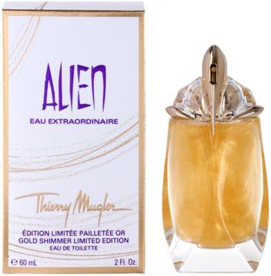 Mugler Alien Eau Extraordinaire Gold Shimmer Limited Edition Eau de Toilette für Damen