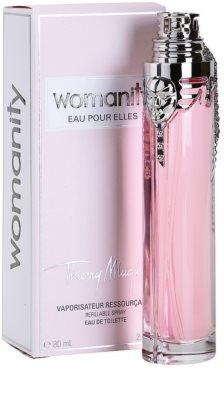 Mugler Womanity Eau pour Elles toaletní voda pro ženy  plnitelná 1