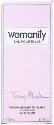 Mugler Womanity Eau pour Elles toaletní voda pro ženy  plnitelná 6