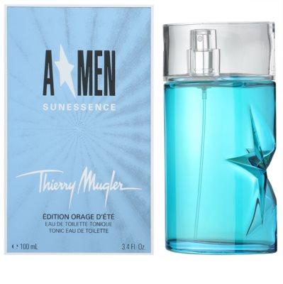 Mugler A*Men Sunessence Edition Orange d´Ete Eau de Toilette pentru barbati