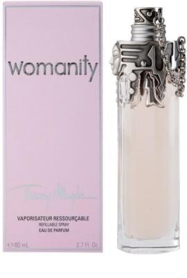 Mugler Womanity Eau de Parfum für Damen  Nachfüllbar