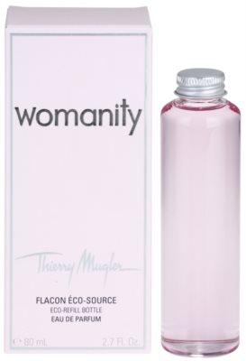 Mugler Womanity Eau de Parfum para mulheres  recarga