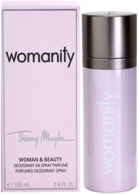 Mugler Womanity deospray pentru femei