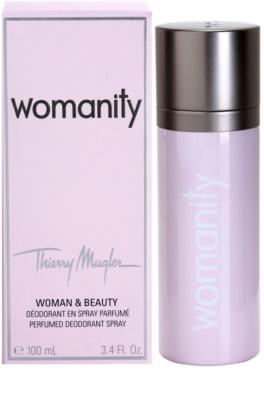 Mugler Womanity dezodorant w sprayu dla kobiet