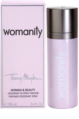 Mugler Womanity дезодорант за жени