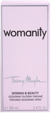 Mugler Womanity Deo-Spray für Damen 3
