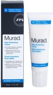Murad Blemish Control fluid do twarzy redukujący produkcję sebum i zmniejszajacy pory  wyrównujący nierówności 1