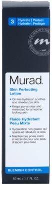 Murad Blemish Control fluid do twarzy redukujący produkcję sebum i zmniejszajacy pory  wyrównujący nierówności 2