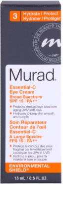 Murad Environmental Shield hidratáló szemkörnyékápoló krém SPF 15 3