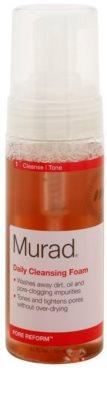 Murad Pore Reform mousse de limpeza para pele com imperfeições