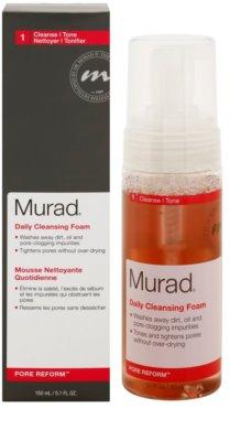 Murad Pore Reform почистваща пяна  за кожа с несъвършенства 1