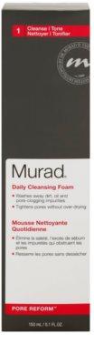 Murad Pore Reform почистваща пяна  за кожа с несъвършенства 2