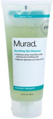 Murad Redness Therapy nyugtató tisztító gél a bőrhibákra