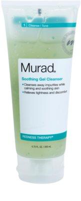 Murad Redness Therapy успокояващ почистващ гел за кожа с несъвършенства