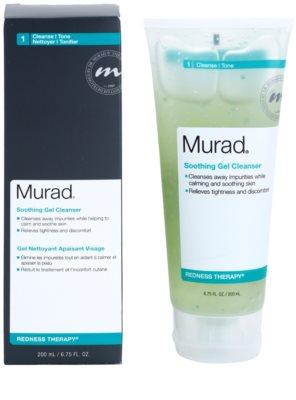 Murad Redness Therapy gel limpiador calmante para pieles con imperfecciones 1