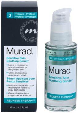 Murad Redness Therapy sérum hidratante e apaziguador  para a pele sensível com tendência a aparecer com vermelhidão 1