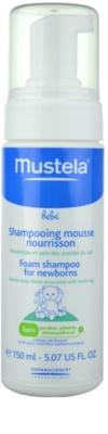 Mustela Bébé Bain pěnový šampon pro děti 1