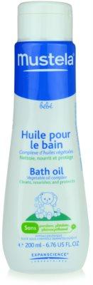 Mustela Bébé Bain олійка для ванни для дітей