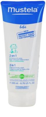 Mustela Bébé Bain gel za prhanje in šampon 2v1 za otroke