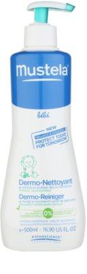 Mustela Bébé Bain tisztító test és haj gél gyermekeknek