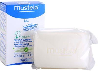 Mustela Bébé Bain jabón suave con cold cream 2