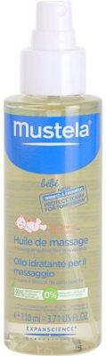 Mustela Bébé Soin ulei de masaj pentru copii 1