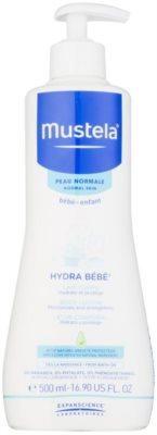 Mustela Bébé Hydra Bébé hydratačné telové mlieko pre deti od narodenia