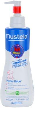 Mustela Bébé Hydra Bébé hydratačné telové mlieko pre deti od narodenia 1
