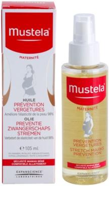 Mustela Maternité pielęgnacyjny olej zapobiegający rozstępom 2