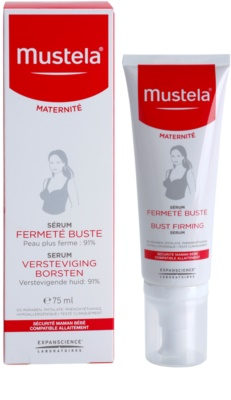 Mustela Maternité Sérum reafirmante do busto 1