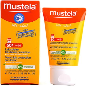 Mustela Solaires leite after sun SPF 50+ 1