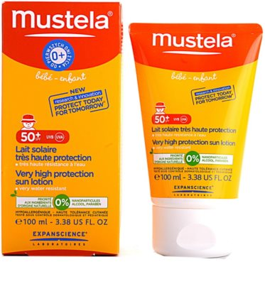 Mustela Solaires Sonnenmilch SPF 50+ 1