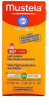 Mustela Solaires Sonnenmilch SPF 50+ 2
